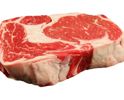 Chicken, horse, lamb or pork in beef