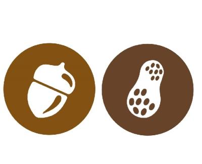 Nut Screen in Chocolate